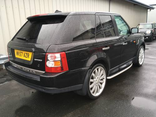 2008 RANGE ROVER SPORT 2.7 TDV6 SE AUTO WITH OVERFINCH ALLOYS SOLD (picture 3 of 6)