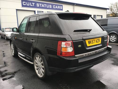 2008 RANGE ROVER SPORT 2.7 TDV6 SE AUTO WITH OVERFINCH ALLOYS SOLD (picture 4 of 6)