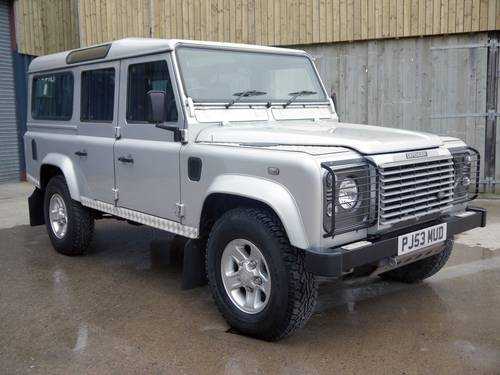 2003 land rover defender 110 td5 xs station wagon sold car and classic. Black Bedroom Furniture Sets. Home Design Ideas