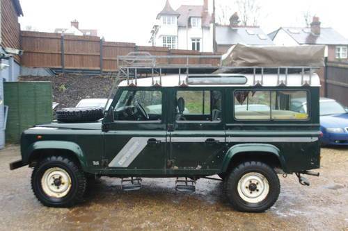 LAND ROVER DEFENDER 110 COUNTY.. EXPEDITION EXTRAS.. BARGAIN SOLD (picture 1 of 6)
