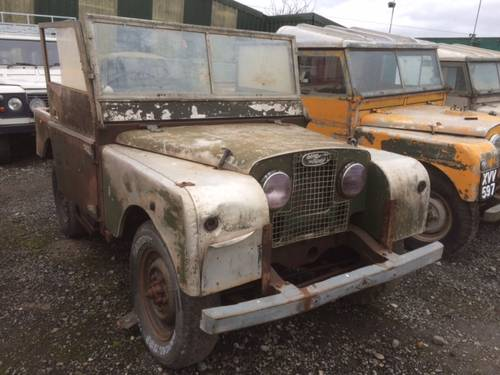 1952 Series 1 Land Rover 80 inch - Rust Free for Restoration For Sale (picture 1 of 4)