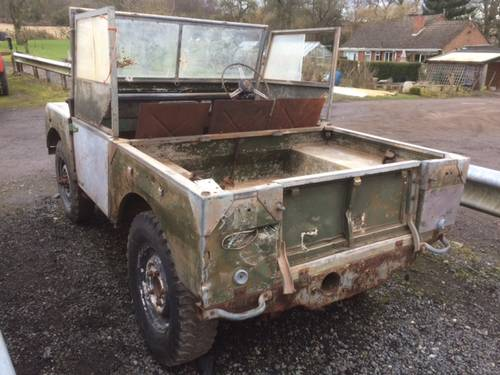 1952 Series 1 Land Rover 80 inch - Rust Free for Restoration For Sale (picture 2 of 4)