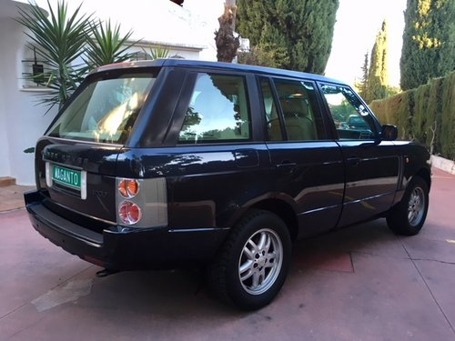 2004 LHD Range Rover Vogue TD6 - Spanish Registration For Sale (picture 4 of 6)