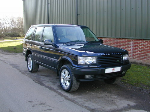 2000 RANGE ROVER P38 4.6 HSE - RHD - COLLECTOR QUALITY! For Sale (picture 1 of 6)