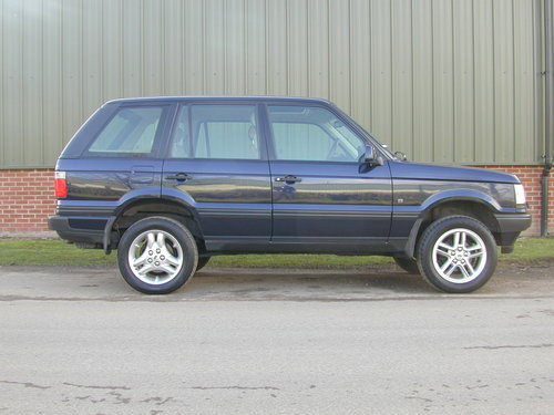 2000 RANGE ROVER P38 4.6 HSE - RHD - COLLECTOR QUALITY! For Sale (picture 2 of 6)