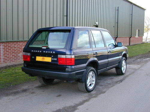 2000 RANGE ROVER P38 4.6 HSE - RHD - COLLECTOR QUALITY! For Sale (picture 3 of 6)