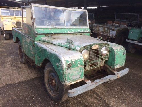 1951 Land Rover Series1 80 inch 1.6 Litre Petrol For Sale (picture 1 of 6)