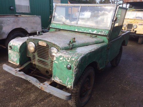 1951 Land Rover Series1 80 inch 1.6 Litre Petrol For Sale (picture 2 of 6)