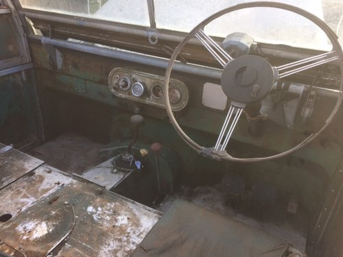1951 Land Rover Series1 80 inch 1.6 Litre Petrol For Sale (picture 5 of 6)