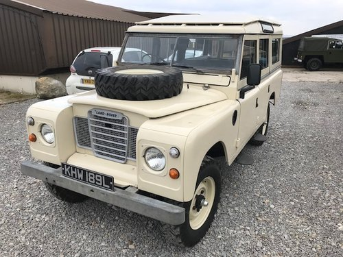 1972 Land Rover® Series 3 109 Station Wagon *Tax Exempt 200 TDi* SOLD (picture 1 of 6)