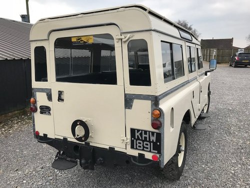 1972 Land Rover® Series 3 109 Station Wagon *Tax Exempt 200 TDi* SOLD (picture 6 of 6)