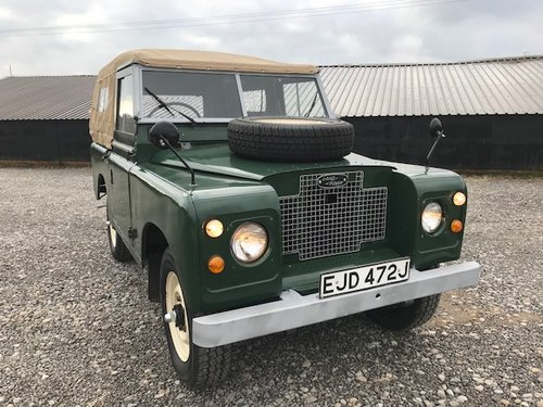 1970 Land Rover® Series 2a *Refurbished Ragtop* (EJD) SOLD (picture 1 of 5)