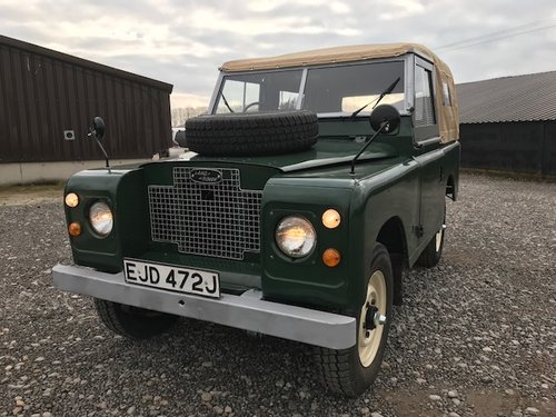 1970 Land Rover® Series 2a *Refurbished Ragtop* (EJD) SOLD (picture 2 of 5)