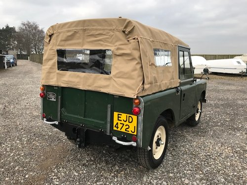 1970 Land Rover® Series 2a *Refurbished Ragtop* (EJD) SOLD (picture 3 of 5)