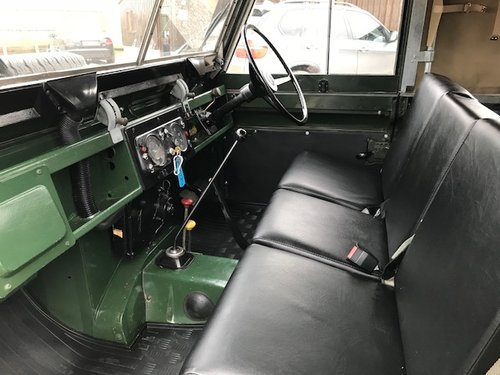 1970 Land Rover® Series 2a *Refurbished Ragtop* (EJD) SOLD (picture 4 of 5)