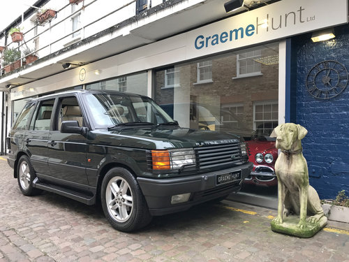 1999 Range Rover 4.6 Vogue HSE - 46.000 miles only SOLD (picture 1 of 6)