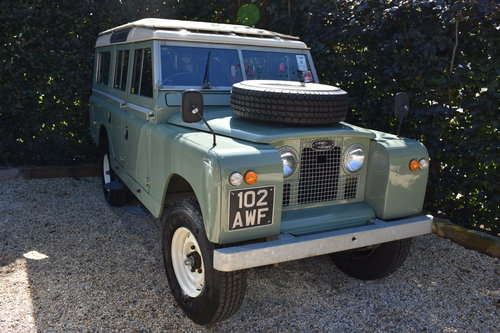 1963 Land Rover Series 2a / Restored / Galvanised chas  For