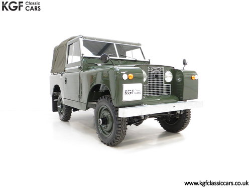 1967 A Desirable Land Rover Series 2a SWB 88-Inch in Immaculate C SOLD (picture 1 of 6)