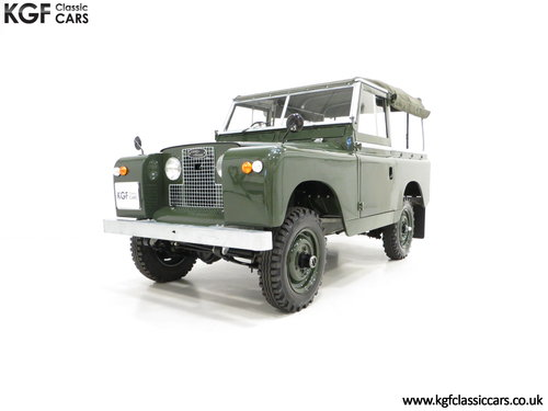 1967 A Desirable Land Rover Series 2a SWB 88-Inch in Immaculate C SOLD (picture 2 of 6)