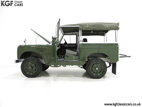 1967 A Desirable Land Rover Series 2a SWB 88-Inch in Immaculate C SOLD (picture 3 of 6)