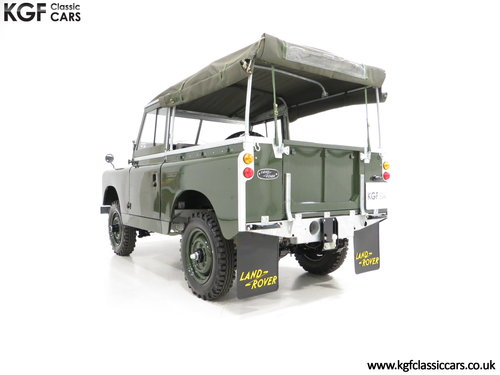 1967 A Desirable Land Rover Series 2a SWB 88-Inch in Immaculate C SOLD (picture 4 of 6)