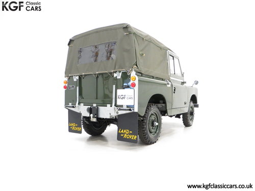 1967 A Desirable Land Rover Series 2a SWB 88-Inch in Immaculate C SOLD (picture 5 of 6)