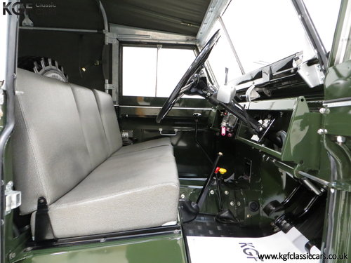 1967 A Desirable Land Rover Series 2a SWB 88-Inch in Immaculate C SOLD (picture 6 of 6)