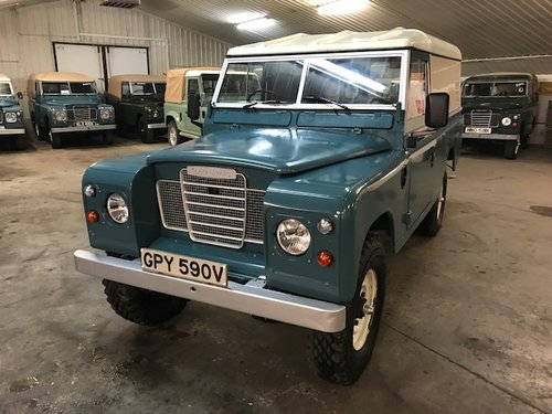 1980 Land Rover® Series 3 109 *Galvanised Chassis Rebuild* (GPY) SOLD (picture 1 of 6)