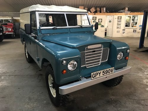 1980 Land Rover® Series 3 109 *Galvanised Chassis Rebuild* (GPY) SOLD (picture 2 of 6)