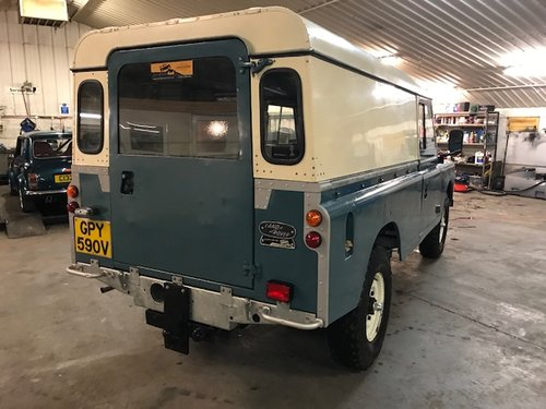 1980 Land Rover® Series 3 109 *Galvanised Chassis Rebuild* (GPY) SOLD (picture 3 of 6)