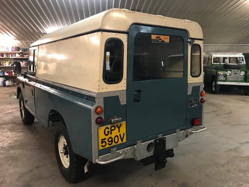 1980 Land Rover® Series 3 109 *Galvanised Chassis Rebuild* (GPY) SOLD (picture 4 of 6)