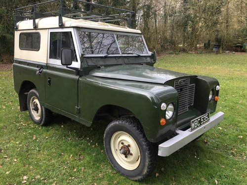 1970 Land Rover Series 2a 88 SOLD (picture 1 of 6)