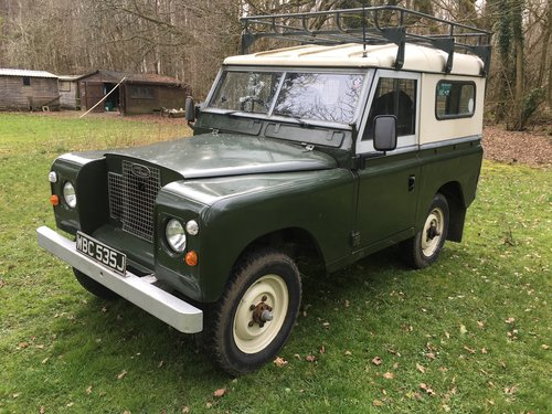 1970 Land Rover Series 2a 88 SOLD (picture 2 of 6)