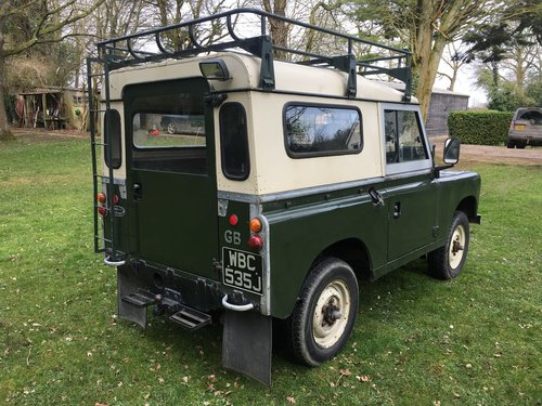 1970 Land Rover Series 2a 88 SOLD (picture 3 of 6)