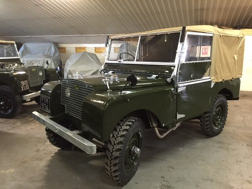 "1950 Land Rover® Series 1 80"" *Lights Behind The Grill* (FTH) For Sale (picture 2 of 6)"
