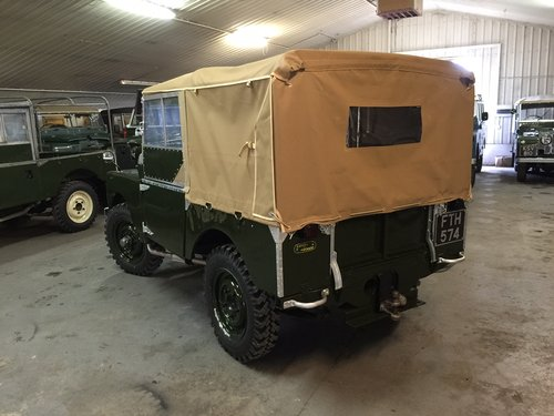 "1950 Land Rover® Series 1 80"" *Lights Behind The Grill* (FTH) For Sale (picture 4 of 6)"