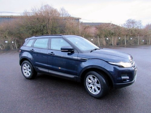 2012 RANGE ROVER EVOQUE PURE.T.SD4 2.2.AUTO DIESEL 5 DR SOLD (picture 2 of 6)
