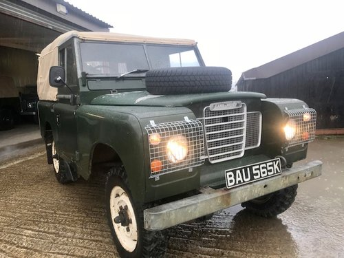 1972 Land Rover® Series 3 *Preservation Vehicle* (BAU) RESERVED SOLD (picture 1 of 6)