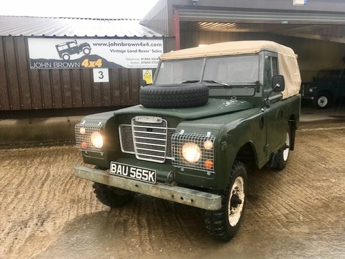 1972 Land Rover® Series 3 *Preservation Vehicle* (BAU) RESERVED SOLD (picture 2 of 6)
