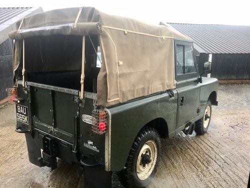 1972 Land Rover® Series 3 *Preservation Vehicle* (BAU) RESERVED SOLD (picture 3 of 6)