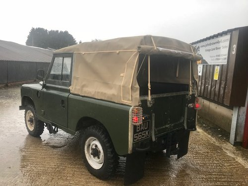 1972 Land Rover® Series 3 *Preservation Vehicle* (BAU) RESERVED SOLD (picture 4 of 6)