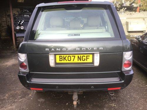 2007 Range Rover TDV8 07 top spec vogue For Sale (picture 2 of 6)