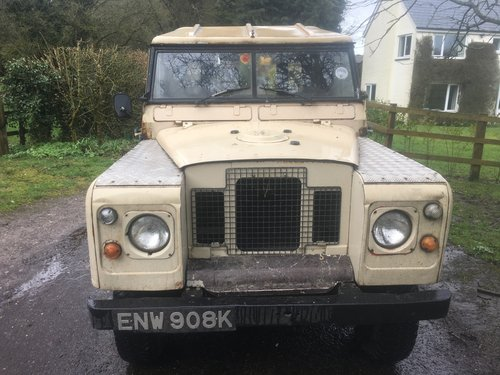 1971 Land Rover Series 2a IIa 88 SOLD (picture 1 of 6)