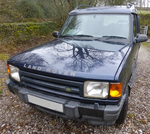1998 Discovery V8 Auto 5 door  Original sills, arches no welding For Sale (picture 1 of 6)