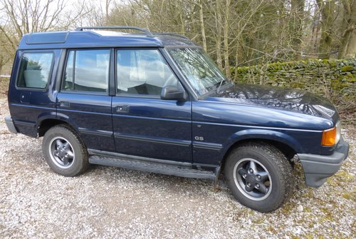 1998 Discovery V8 Auto 5 door  Original sills, arches no welding For Sale (picture 6 of 6)