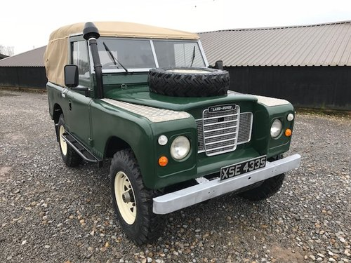 1977 Land Rover® Series 3 *Petrol Soft-Top* (XSE) RESERVED SOLD (picture 1 of 6)