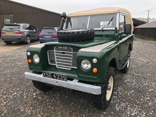 1977 Land Rover® Series 3 *Petrol Soft-Top* (XSE) RESERVED SOLD (picture 2 of 6)