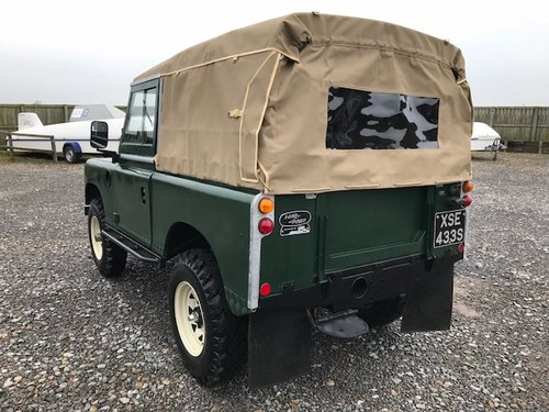 1977 Land Rover® Series 3 *Petrol Soft-Top* (XSE) RESERVED SOLD (picture 3 of 6)