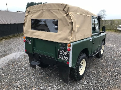 1977 Land Rover® Series 3 *Petrol Soft-Top* (XSE) RESERVED SOLD (picture 4 of 6)
