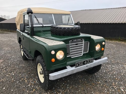 1977 Land Rover® Series 3 *Petrol Soft-Top* (XSE) RESERVED SOLD (picture 6 of 6)